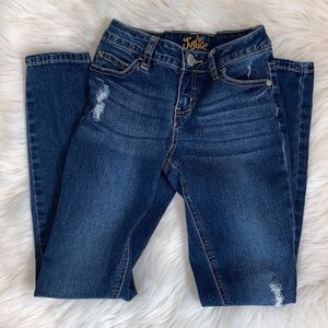 Justice Distressed Skinny Jeans